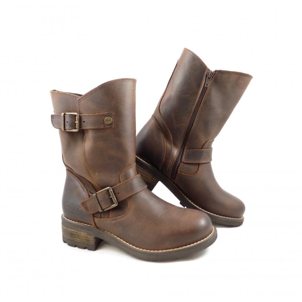 5ac43e94495 Oak & Hyde Oak & Hyde Crest Demi Biker Ankle Boot