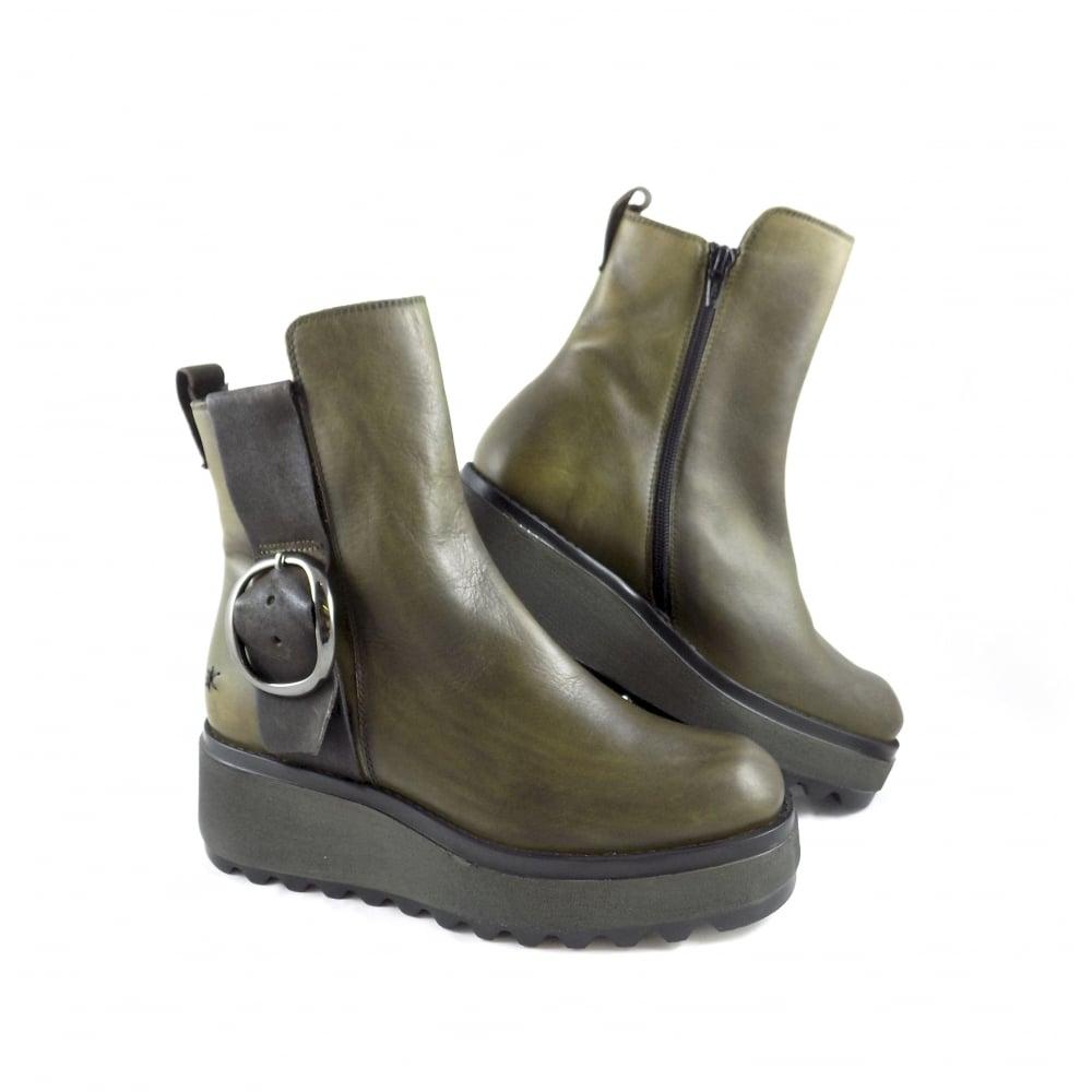 Patrizia Bonfanti Chika Chunky Flatform Ankle Boots