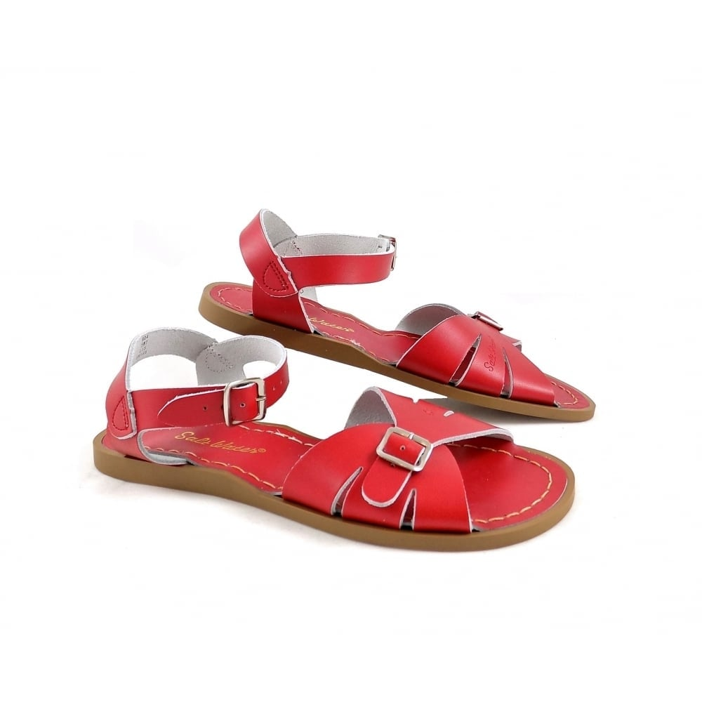 83ab5f66fec5b5 Salt-Water Sandals Classic Water Sandals in Red Leather