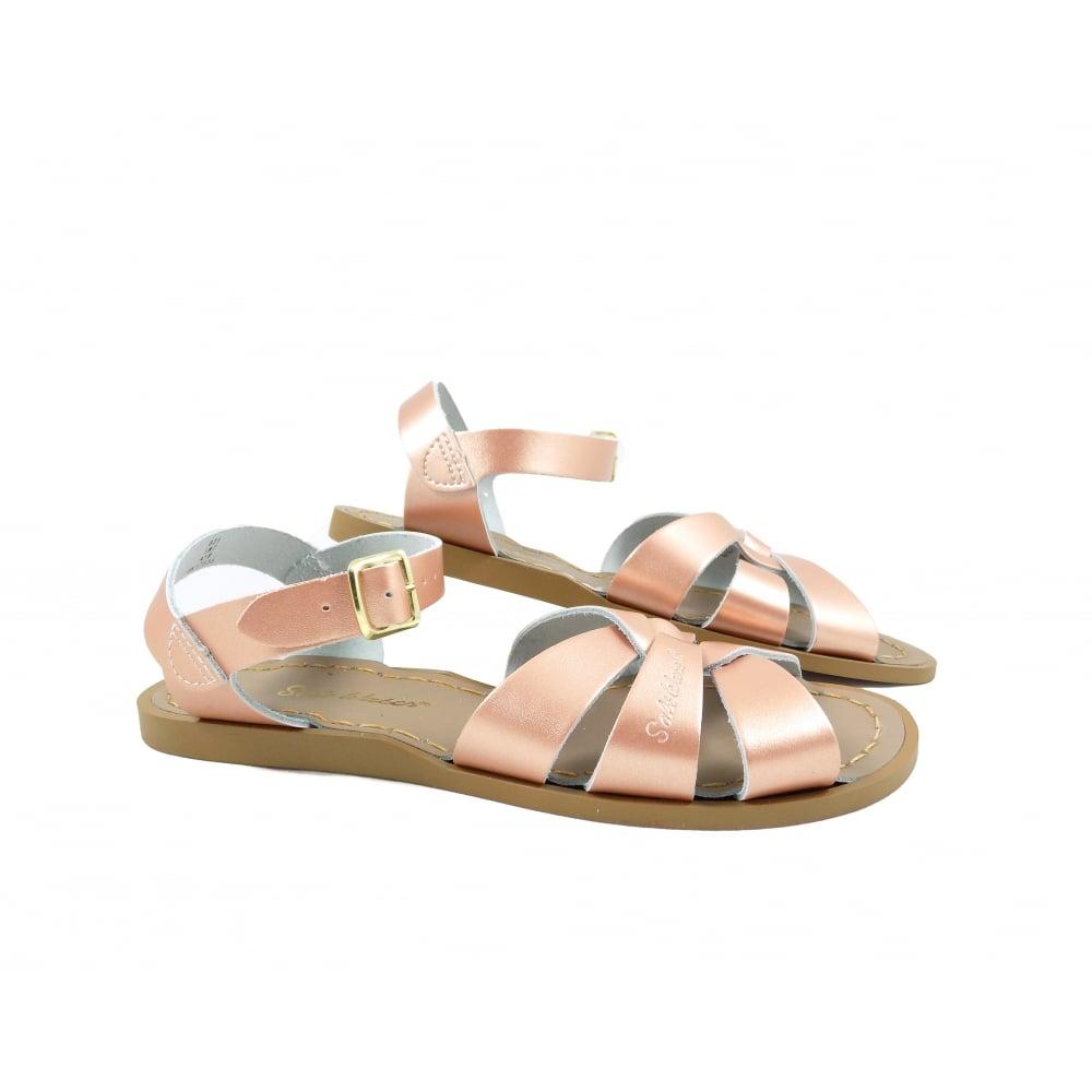47d58d2fe Salt-Water Sandals Original Cross Over Strap Sandal. Code  SW W Original Rose  Gold