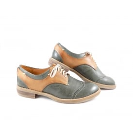 Shoe Embassy 0617 'EuGenius' Two Tone Lace Up Brogue