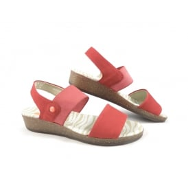 Softinos Alp Low Wedge Casual Sandals