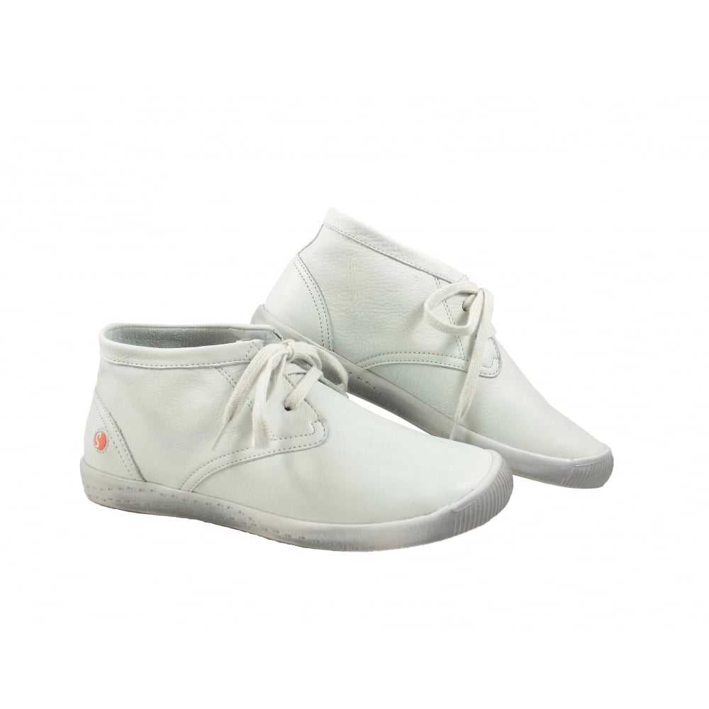 ea50d51fcd93 Softinos Indira Super Soft Desert Boots in White   rubyshoesday