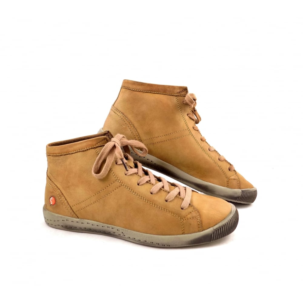 Keen Brown Leather High Top Lace Up Shoes