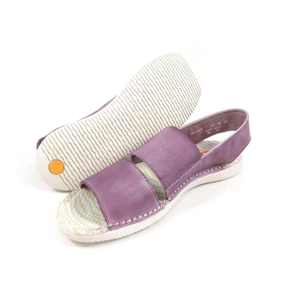 a628cc0c77cb Softinos Tai Super Soft Casual Sandals in Lilac Leather