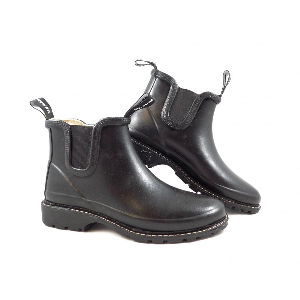 e82dd10c48d Sulman Sulman Agnes Chelsea Style Wellington Boot