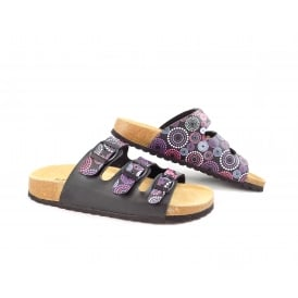 SUPERSOFT 274 482 Three Strap Sandal