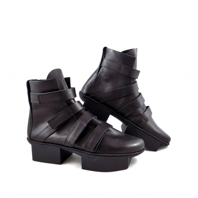 Trippen Path Multi Strap Split Sole Ankle Boot