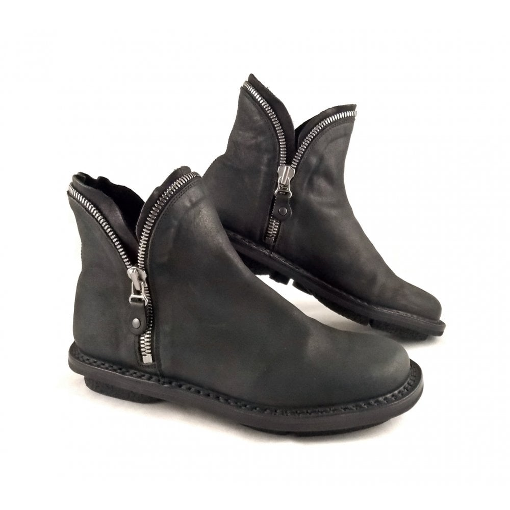 Trippen Diesel Zip Detail Ankle Boot