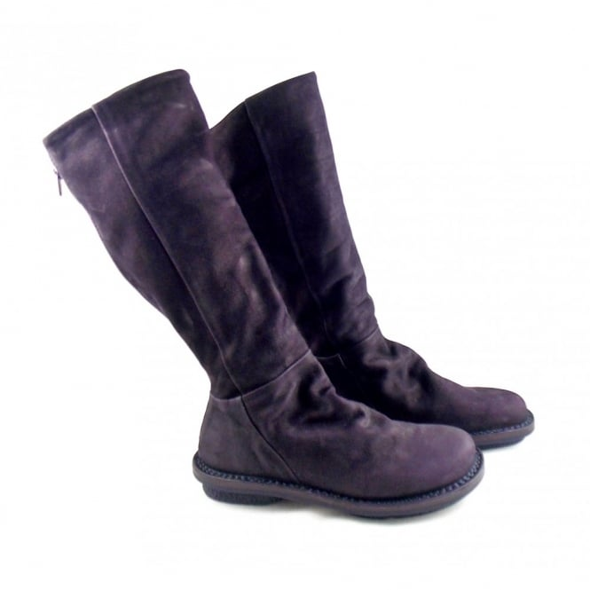 Trippen Steam Long Boot with Crease Detail