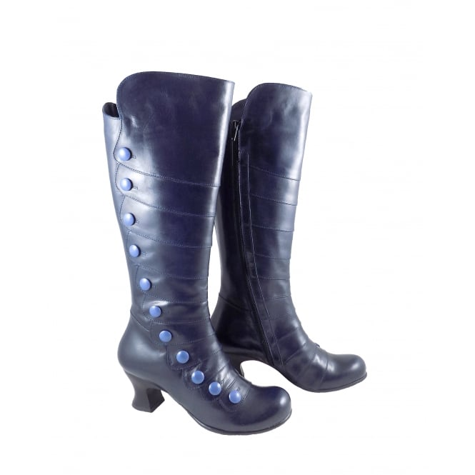 Vladi 1286 Vale Long Victoriana Style Boot